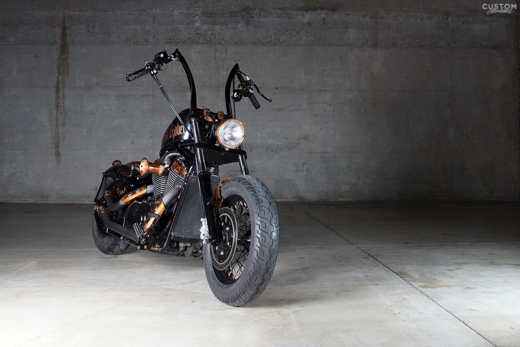 Bobber Chopper EZF Custom Machines1
