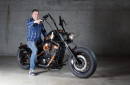 BOB BOBBER, SUZUKI VOLUSIA 800 BY EFZ IRON CHOPPERS Portada