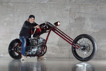 The Chopper Iron Boyzz Custommachines Portada